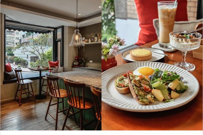 台中北區早午餐 | 波櫟 Polygon,別墅裡頗有溫馨氛圍的西式私廚料理。