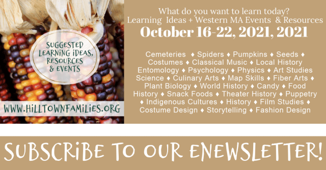 Self-directed learning through the seasons! Support interests through the lens of food, habitat, and heritage with our list of learning ideas.