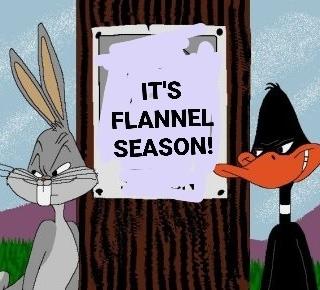 It's flannel season!