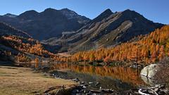 Lac d'Arpy et Mont Colmet