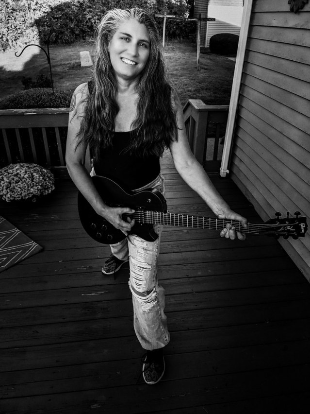 Krissy and the Les Paul