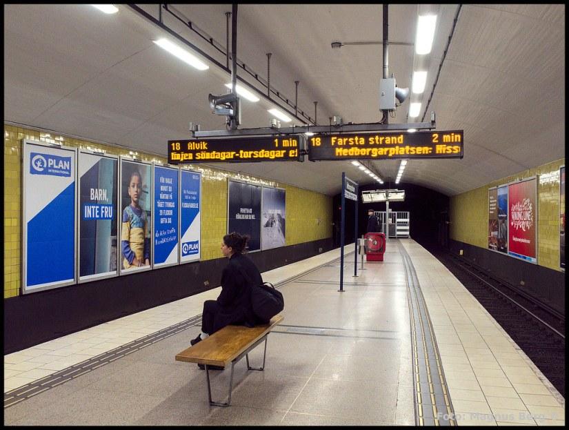 Tunnelbanestation Medborgarplatsen