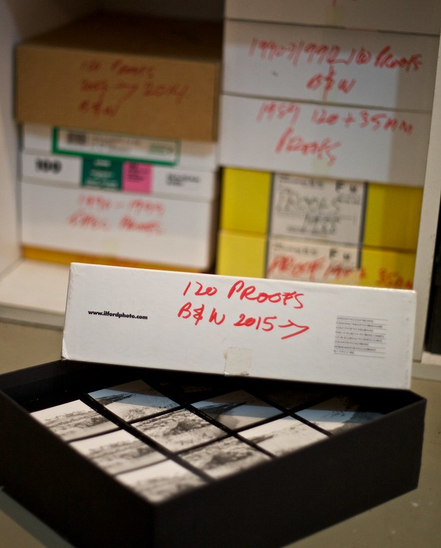My archive of 120 film contact sheets, from 1987 to today.