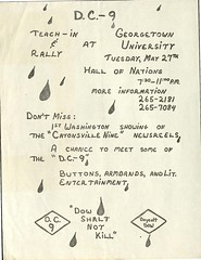 Support the D.C. Nine – May 1969