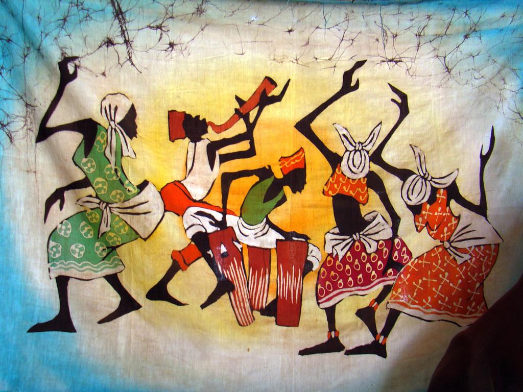 Kenia expresiones artisticas y culturales pictoricas 27