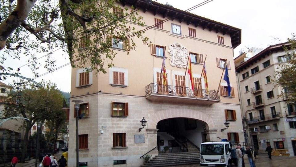 edificio Ayuntamiento de Soller Mallorca