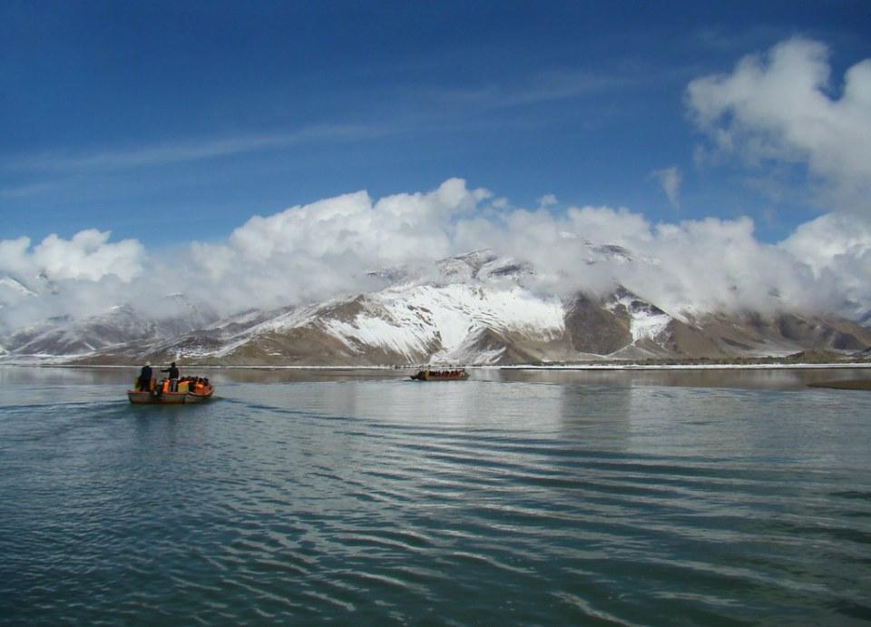 Lago Yamdrok Valle de Yarlung Tíbet 17