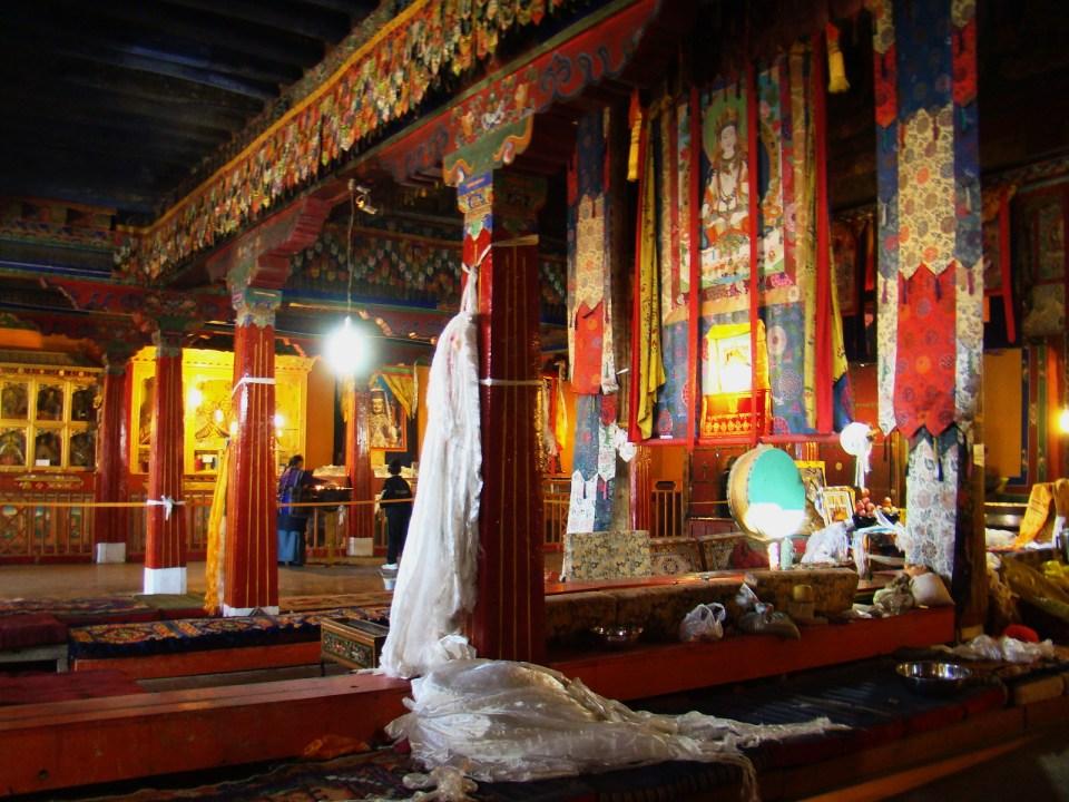 Lhasa Interior Monasterio Drepung Tibet 01
