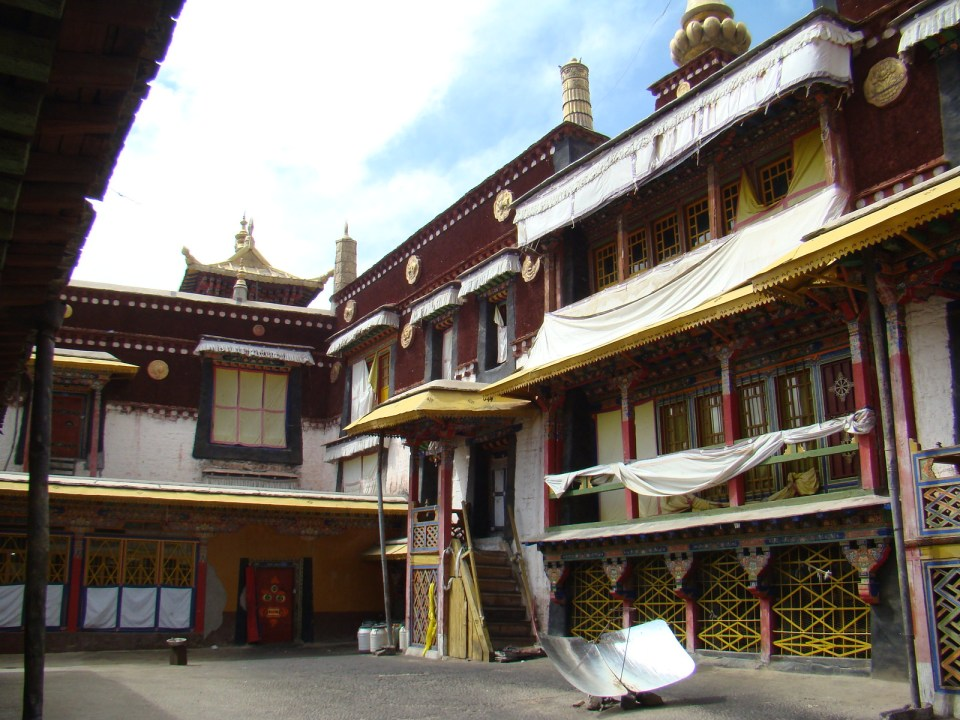 Monasterio de Sera en Lhasa Tibet 06