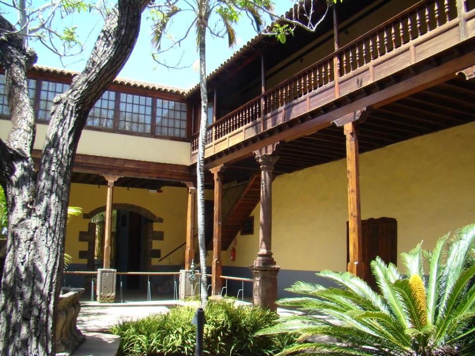 patio interior Casa de los Capitanes Generales San Cristobal de La Laguna Tenerife Patrimonio de la Humanidad 07