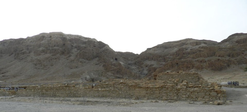 panoramica Qumran ruinas ciudad Israel 02