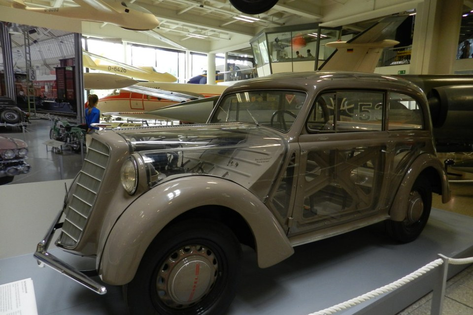 Coches Museo Aleman Munich Alemania 02