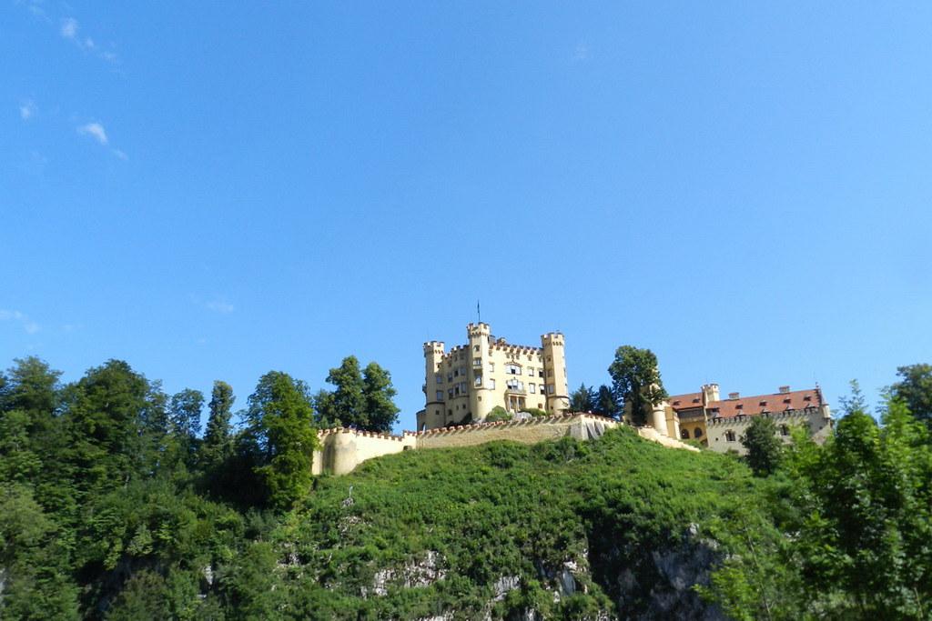 Castillo de Hohenschwangau Baviera Alemania