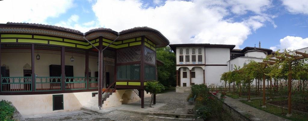 Ucrania Bakhchysarai Haren del Palacio de Hansaray o El Palacio del Khans de Crimea Ucrania 02