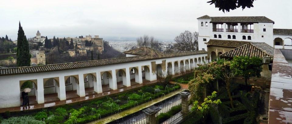Granada Palacio del Generalife Patrimonio de la Humanidad 03 panoramica