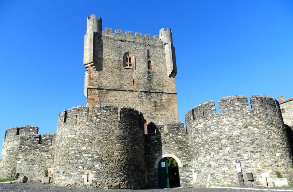 torre del Homenaje muralla y Castillo de Braganza Ciudadela Portugal 12