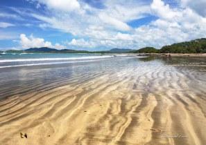 Golden sands at Tamarindo Beach