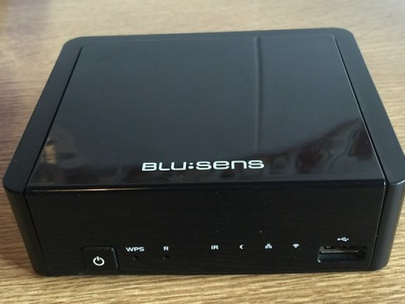 Vendo web:tv de Blu:sens