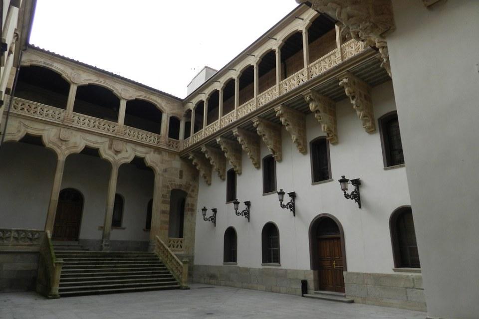 patio Palacio de La Salina Salamanca 04