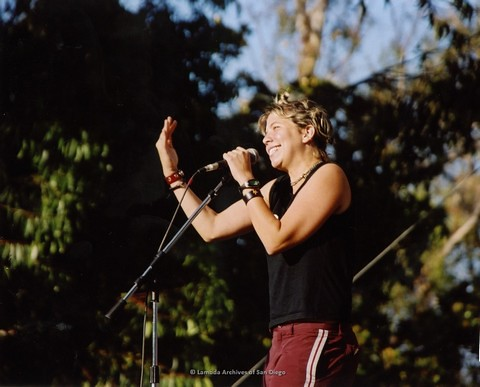 Main Stage at San Diego LGBTQ Pride Festival, 2002