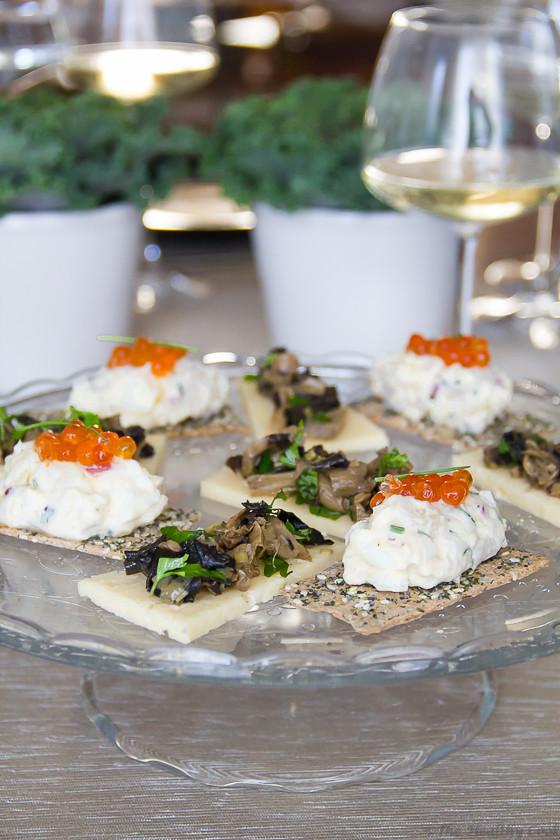 Wild Mushrooms Canapés – Ορεκτικό με Άγρια Μανιτάρια