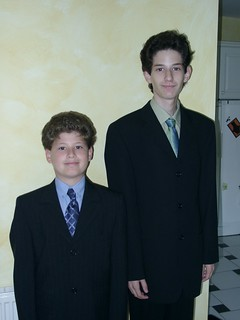 New suits - don't they look smart