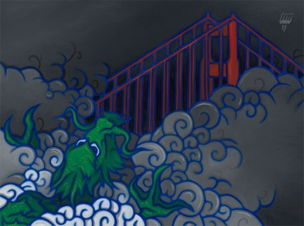 Golden Gate Shrouded Dragon