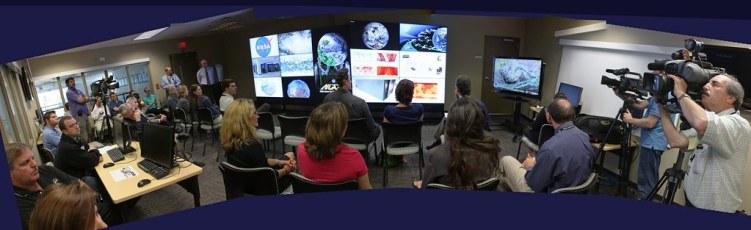 NASA Center for Climate Simulation media briefing