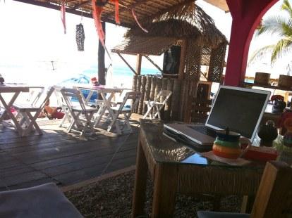 Our office, Pie de la Cuesta, Mexico