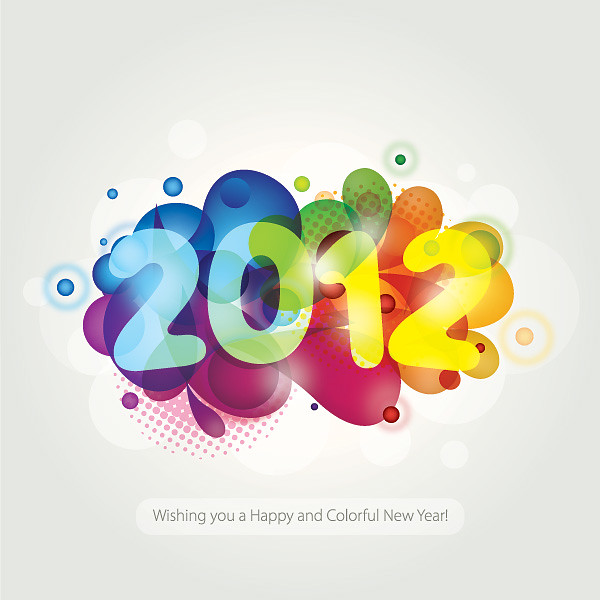 Colorful New Year 2012