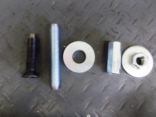 Outer Bearing Race Installation Tool Parts