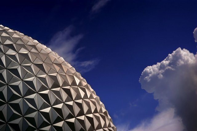 A Slice of Spaceship Earth in the Morning