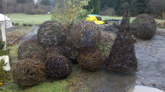 Giant Forest Balls