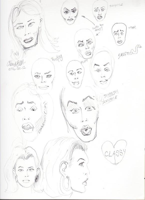 Female Face Study 4