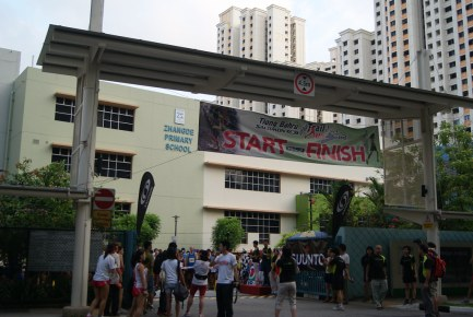 Salomon Tiong Bahru Urban Trail Run 2012