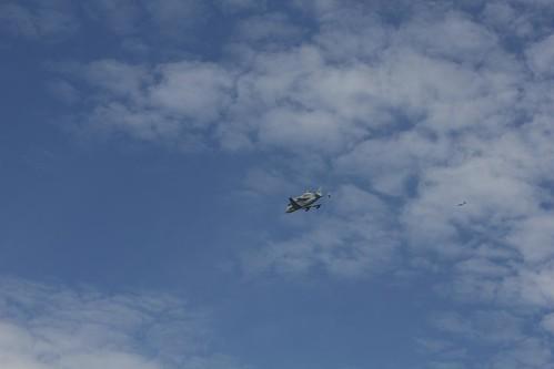 Discovery Flies Over NASAs Goddard Space Flight Center