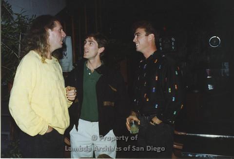 P001.159m.r.t 1st Anniversary 1991: Three men