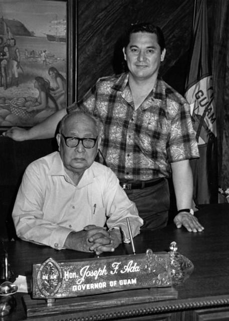 Governor Joseph Ada and Father