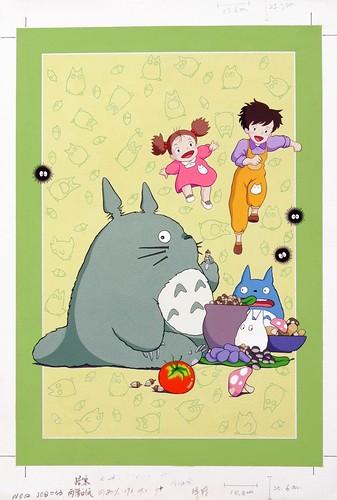 龍貓漫畫平圖-1 | (手繪稿)廣告顏料平圖 note book封面 | grace chiu | Flickr