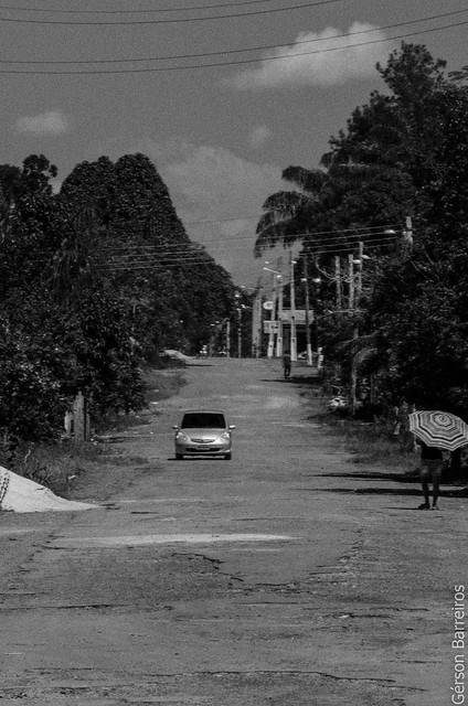 Rua em Novo Airão