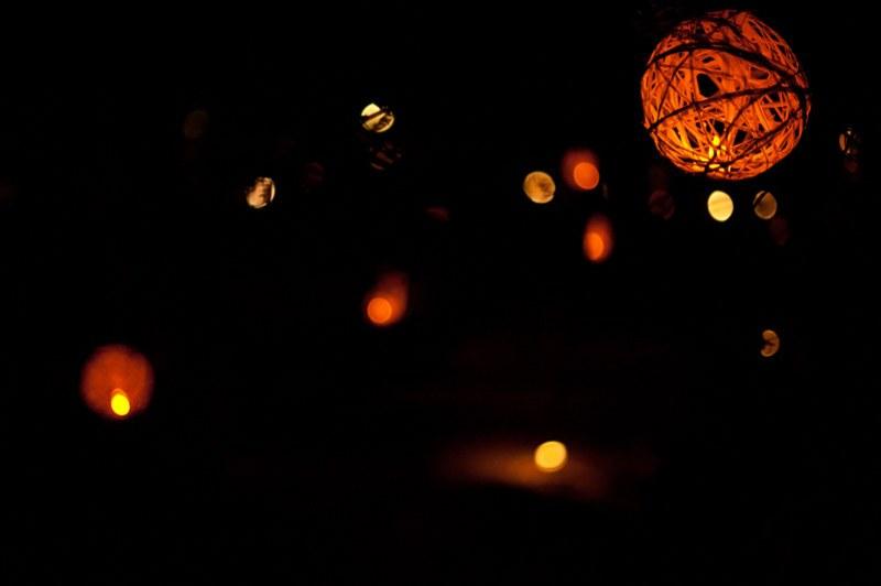 Raffia Lanterns