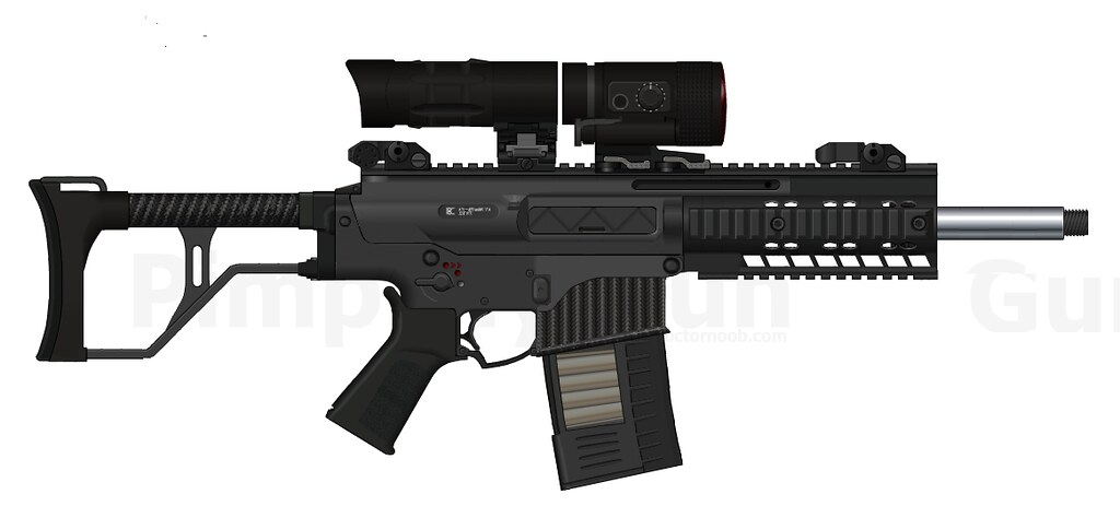 APEX prototype | chambered in 7.62x51, 20 round mag 3x magni… | Flickr