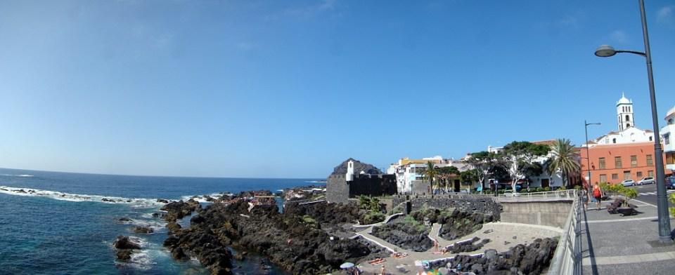 Castillo de San Miguel y El Caleton Garachico isla de Tenerife 01