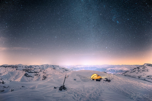 ^ Survival trip at 10'000ft: Night, morning and descent ^