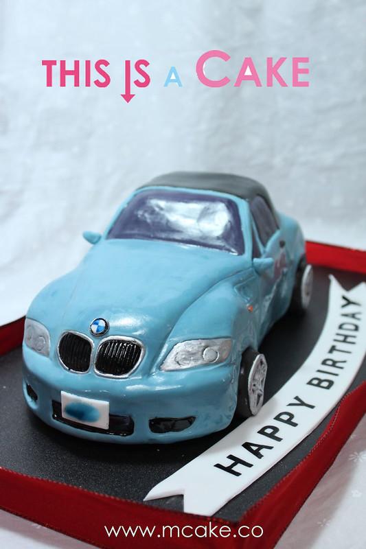 BMW Z3 CAKE