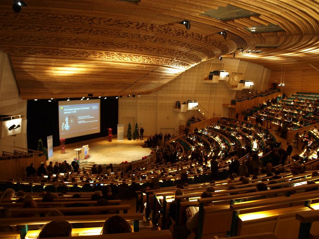 Aula Magna Dell Universit 224 Di Stoccolma Durante Uno Degli