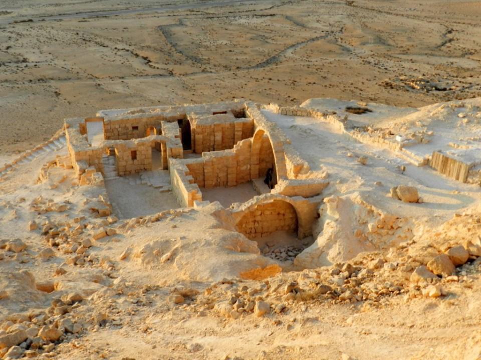 Avdat monasterio Israel Patrimonio Humanidad Ruta Incienso 17