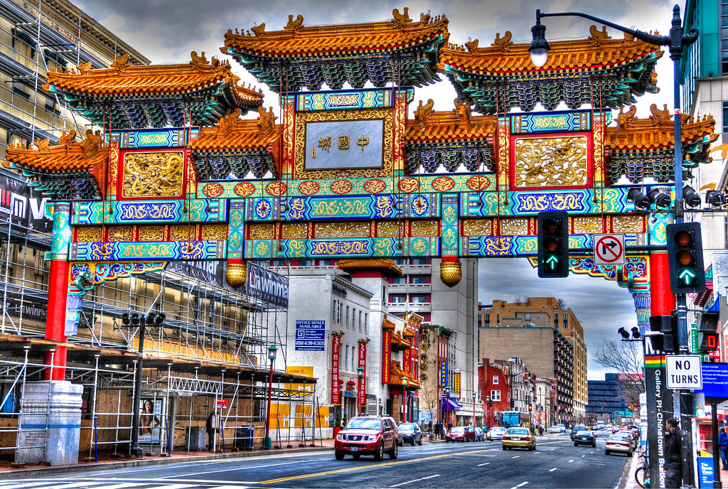 Chinatown Friendship Archway Gate Washington Dc