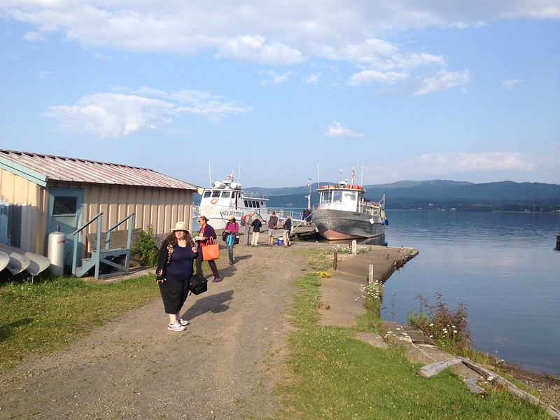 Heading toward the Isle Royale ferry