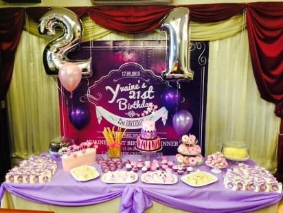 yvaine's 21st birthday - landscape